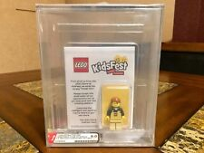 LEGO KIDS FEST MINI FIGURE 2014 RARER THAN MR. GOLD EMPLOYEE EXCLUSIVE AFA 9.0