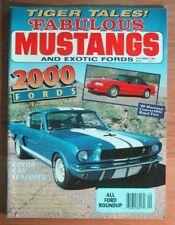 FABULOUS MUSTANGS 1989 SEPT - TIGERS, PANTERA, '67 GTA