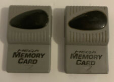 Mega Memory Card 1MB by Performance for Sony PlayStation 1 PS1 Lot Of 2