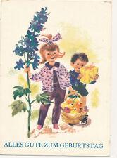 AK DDR, Alles Gute zum Geburtstag (K) 19900