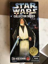 "Vintage 1996 Star Wars Kenner 12"" Collector Series Obi-Wan Kenobi"
