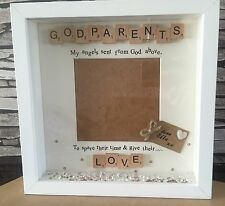 Personalised Godparents/godmother/godfather Picture Frame Great Christmas Gift