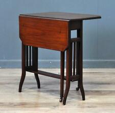 Attractive Small Antique Edwardian Sutherland Inlaid Mahogany Side Table