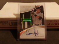 ALL RiSE! 2017 Immaculate Aaron Judge On-Card Auto Dual Jersey Patch 13/25 RC SP