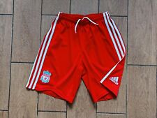 Football shorts soccer FC Liverpool Reds Home 2008/2009/2010 Adidas Kids Boy L