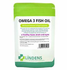 Omega 3 6 9 1000mg 360 Capsules FISH OIL HIGH STRENGTH EPA DHA, SKIN BRAIN MOOD