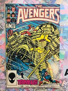 Avengers #257 MARVEL 1985 1st Nebula NM- GOTG