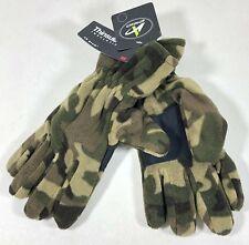 Athletech Soft Thinsulate Insulation Green Camo Winter Fleece Gloves Men's L/XL