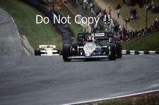 Stefan Johansson Tyrell 012 British Grand Prix 1984 fotografia 3