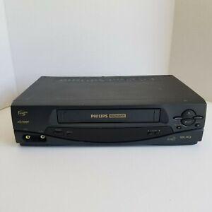 Phillips Magnavox VCR Plus 4 Head VRA431AT24 VHS Player Recorder VHS HQ