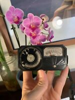 Vintage Weston Photronic Exposure Meter Model 650 Deco Light Emulsion Speed RARE