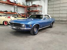 1970 Ford Mustang Convertible Deluxe Mach I Interior 302 2v PS PB