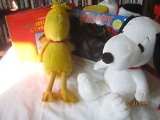 Kohls Cares Snoopy and Woodstock plush lot Peanuts Gang B60