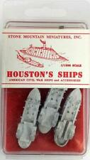 Stone Mountain Houston's Ships1/1200  USS Lexington, Tyler & Conestoga Pack New