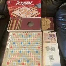 Scrabble Crossword MB Milton Bradley Board Game Tiles arts crafts VTG