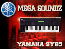 YAMAHA SY85 MEGA SOUNDZ CD - Over 2000 Patches + Editor
