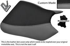 BLACK & GREY CUSTOM FITS KAWASAKI NINJA ZXR 750 91-92 (J K) FRONT SEAT COVER