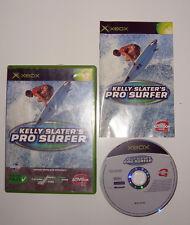 RARE JEU X BOX KELLY SLATER'S PRO SURFER COMPLET