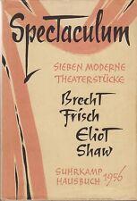 Spectaculum I - Sieben moderne Theaterstücke   1956