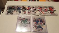 2016-17 UPPER DECK MVP HOCKEY SILVER SCRIPT PARALLEL CARD LOT (10) WITH ROOKIES