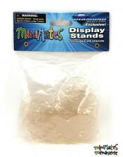 "Minimates Display Stands / Circular Bases - Bag of 24 (Clear) 1.25"" Diameter"