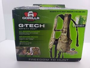 Gorilla Gear G-TAC Fall Defense Safety harness combo Mossy Oak Break Up Infinity