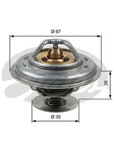 Gates Thermostat + Gaskets & Seals (TH13287G1)