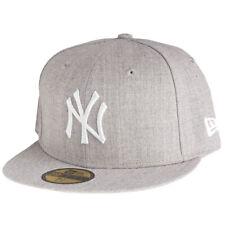 New Era 59Fifty Cap - HEATHER New York Yankees grau
