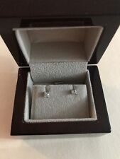 Colorless .20 Ct. Diamond Studs Earings 14K White Gold