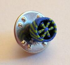 Rosette boutonnière pin's d'officier du MERITE MARITIME, diamètre: 6 mm.