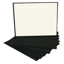 Black Economy Canvas Panel 16X20 Box of 50 Bulk Discount Acid Free Artist Canvas