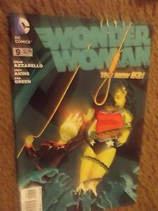 The New 52: Wonder Woman #9 (July 2012, DC) VF/NM