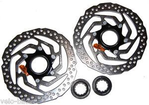 1 Paar ( 2 Stück) Centerlock Bremsscheiben 160 mm SM-RT 10 original Shimano
