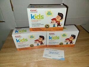 3X GNC KIDS Probiotic Fast Stix Banana Vanilla Great Taste (Lot of 3 Boxes)