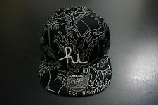OFFICIAL X AARON KAI X IN4MATION IN4M hi BLACK SNAPBACK SNAP BACK HAT CAP