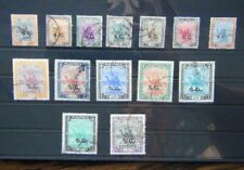 Officials 1936 - 1946 values to 10p Cat £105+ Used