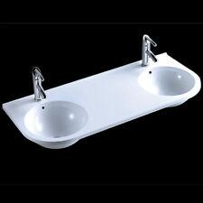 Waschtisch Design Doppelwaschtisch Waschbecken Guss-marmor 120x50 Cm