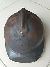 Casque Adrian 15 1ère guerre mondiale 14 18 ww1 armée française