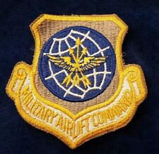 USAF US AIR FORCE MILITARY AIRLIFT COMMAND BADGE 
