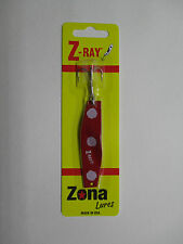 Z-Ray 5/8 oz Red with White Spots Fishing Lure