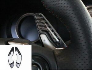 Carbon Fiber Steering Wheel Trim Paddle Shifter Extension For Lexus IS 2013-2020