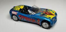 Maisto SPIDER GIRL Marvel Comics Dodge Concept Diecast 2003 - Loose Blue Car