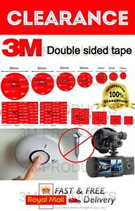 3M Self Adhesive Double Sided Sticker- Sticky Pads for Various DIY NO MORE NAILS