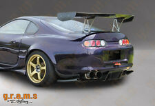 Toyota Supra Carbon Fiber Top Secret / Shine Style Diffuser / Undertray V6