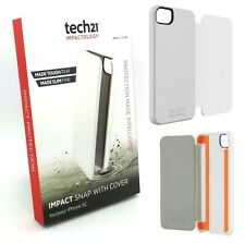 Genuine Tech21 D30 Impact Snap Case With Cover For iPhone 5c White T21-3536