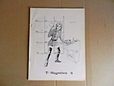 (Star Trek) T-Negative Fanzine #5 (1970) [Ruth Berman]