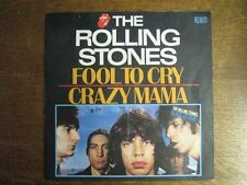 ROLLING STONES 45 TOURS FRANCE FOOL TO CRY