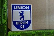 Alter Aufkleber Sportverein UNION BERLIN 06