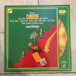 Bernstein_Candide_2 X LaserDisc Box_1991 Deutsche Grammophon _ near mint RARE!