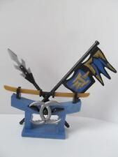 Playmobil Castle/Knights extras: Samurai/Eastern soldiers' blue weapon stand NEW